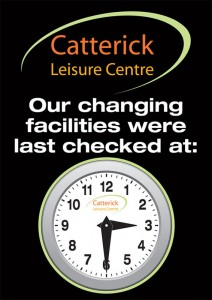 Catterick Facilities Checked Special with movable hands