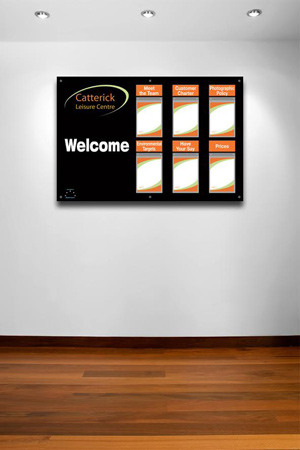 Catterick-printed-info-display-board